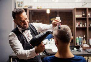 Men's Dry Hair